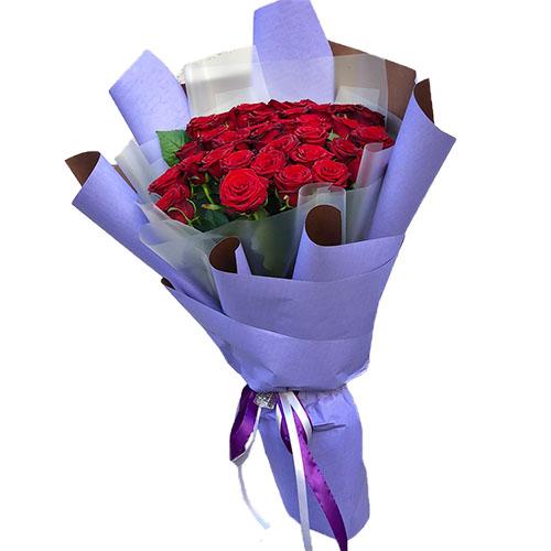 33 красные розы фото товара