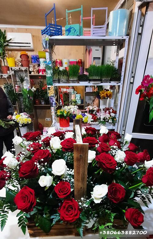 магазин цветов в Харькове фото